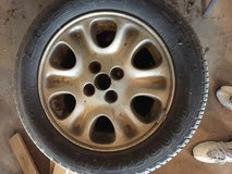 Mazda wheels + 6 tires in Fort Leonard Wood, Missouri