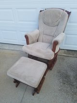 Shermag Glider Rocker & Ottoman in Fort Campbell, Kentucky