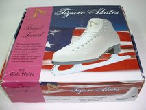 NEW Girls Figure Skates - White - Size 13Y in Alamogordo, New Mexico
