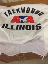 Taekwondo martial arts white uniforms big kids size 1 in Morris, Illinois