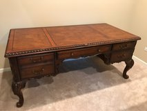 Solid wood desk and chair in Lockport, Illinois