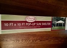 10' x 10' Pop-up Sun Shelter in Orland Park, Illinois