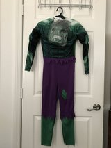 Hulk costume in Camp Pendleton, California