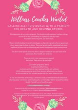 Wellness Coaches Wanted- Training provided in Okinawa, Japan