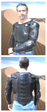 2XL New and unused Bohn Body Armor (Chest, Back, shoulder and elbows) in Stuttgart, GE