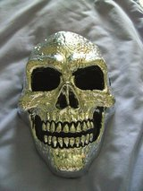 halloween mask skull in Lakenheath, UK