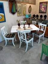 signed ultra high end dining table and chairs in Camp Lejeune, North Carolina