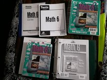 BJU Math 6 curriculum in Fort Leonard Wood, Missouri