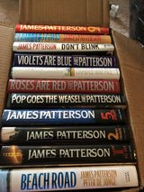 James Patterson hard covers in Cherry Point, North Carolina