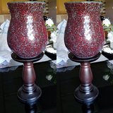 2 Large candle holders. Make me an offer in Orland Park, Illinois