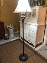 "58"" Tall Sturdy Metal Floor Lamp in Savannah, Georgia"