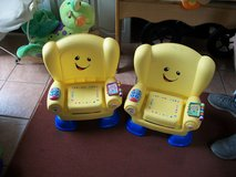 #63 2 Fisher Price Educational Chair in Alamogordo, New Mexico
