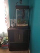 15G fish tank and stand in Fort Campbell, Kentucky