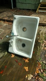 cast iron sink in The Woodlands, Texas