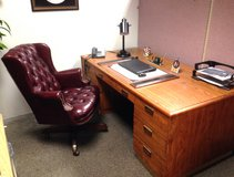 Office desk and ch in Plainfield, Illinois