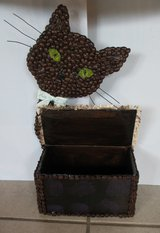 I MADE IT! - Coffee Cat Box in Ramstein, Germany