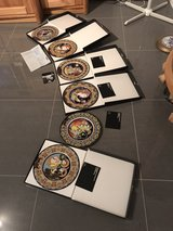 6 Rosenthal Jahresteller, Collector's plates.  600 Euros OBO for the set or 125 Euros OBO each. ... in Ramstein, Germany
