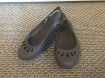 New!  Womens Shoes - Crocs Brown Slip-On Shoes size 6 in Chicago, Illinois