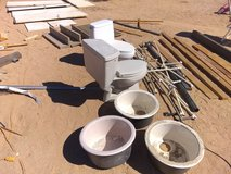 Construction supplies in Yucca Valley, California
