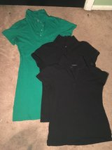 two black junior polos and one green polo dress in Beaufort, South Carolina