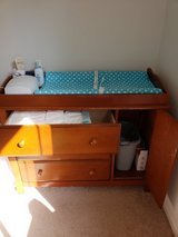 Changing table with accessories in Beaufort, South Carolina