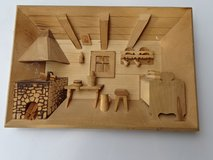 wood-work picture 3-D in Ramstein, Germany