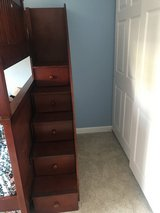 Bunk bed stairs with pull out drawers in Oswego, Illinois