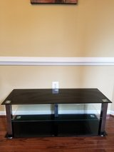 Glass entertainment stand in Bolling AFB, DC