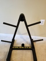 Golds gym weight rack in Bolling AFB, DC