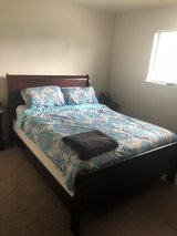 Queen Bedroom Set w/ free 42in TV in Fort Polk, Louisiana