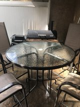 Outdoor Patio Set, w/ Free Char-Broil Grill in Leesville, Louisiana