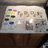 Clear Stamps with Acyrlic Blocks and 10 Stampin' Up Ink Pads in Fort Campbell, Kentucky