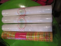4 Rolls of Decorative Mesh Ribbon- NEW in Hopkinsville, Kentucky