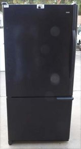 24 CU. KENMORE REFRIGERATOR BOTTOM FREEZER- BLACK in Camp Pendleton, California