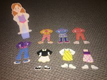 Melissa & Doug Maggie Leigh Magnetic Dress-Up Doll Set in Naperville, Illinois