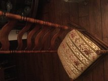 Vintage wood ladder back rocking chair. Very rare. Has six wooden back sections. Mint condition.... in Joliet, Illinois