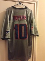 Texans jersey   Hopkins, worn once in Katy, Texas
