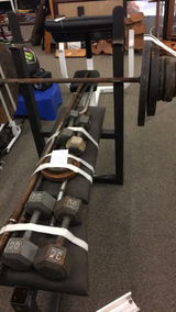 Weight Set in Fort Leonard Wood, Missouri