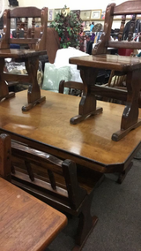 Table with 4 Chairs and Bench in Fort Leonard Wood, Missouri