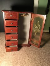 very well sized jewelry cabinet in Beaufort, South Carolina