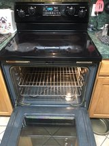 Black Smooth top Maytag Electric Range in Baytown, Texas