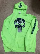 Seahawks Punisher Hoodie! New with tags! Size large $15 in Fort Lewis, Washington