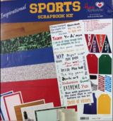 "New & unused scrapbook kit ""Sports"" inspirational (incl. Bible verses) in Stuttgart, GE"