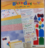 "New & unused scrapbook kit ""Birthday"" inspirational (incl. Bible verses) in Stuttgart, GE"
