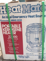 """HeatMate"" large portable Kerosene Heater, new & unused in Stuttgart, GE"