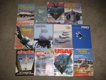 Military Aviation Magazines from the 70's, 80's and 90's in Lakenheath, UK