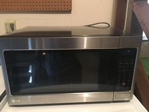 Extra Large Stainless Steel LG Microwave Oven in Fort Eustis, Virginia