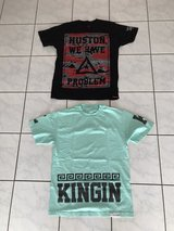 Last Kings and Asphalt Yacht Club shirts in Ramstein, Germany