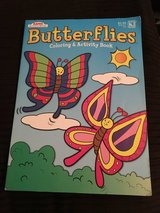 NEW - Butterflies Coloring and Activity Book in Camp Lejeune, North Carolina