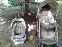 Stroller/ carseat in Yorkville, Illinois